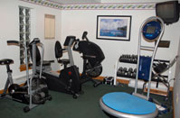 Rehab room at Back in Motion Chiropractic Latrobe, PA